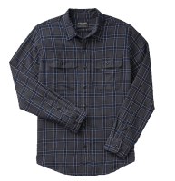Filson Scout Shirt Faded Black/Indigo/White