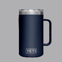 YETI Rambler 24oz (710ml) Mug - navy