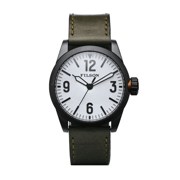 Filson Field Watch - olive/white