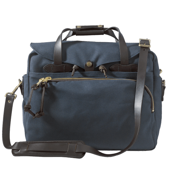 Filson Rugged Twill Padded Computer Bag - Navy