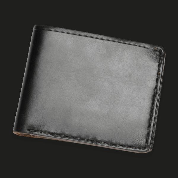 Coronado Leather HH44 BLK Coin Wallet Black