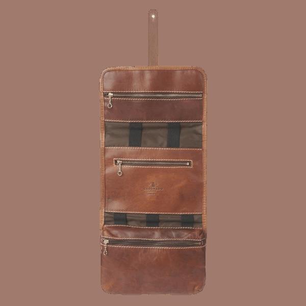 Coronado Leather Alpine Horween Dop Kit