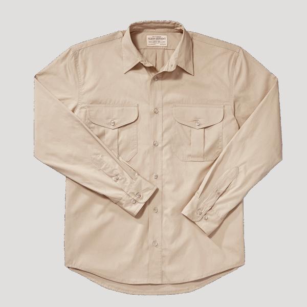 Filson Feather Cloth Shirt - dessert tan