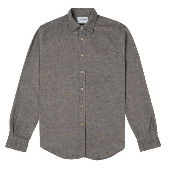 Portuguese Flannel Teca LIGHT GREY