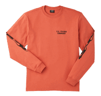 Filson Smokey Bear Long Sleeve Shirt - orange