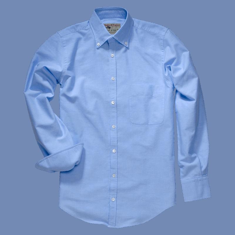 G&F Classic Oxford Shirt blau