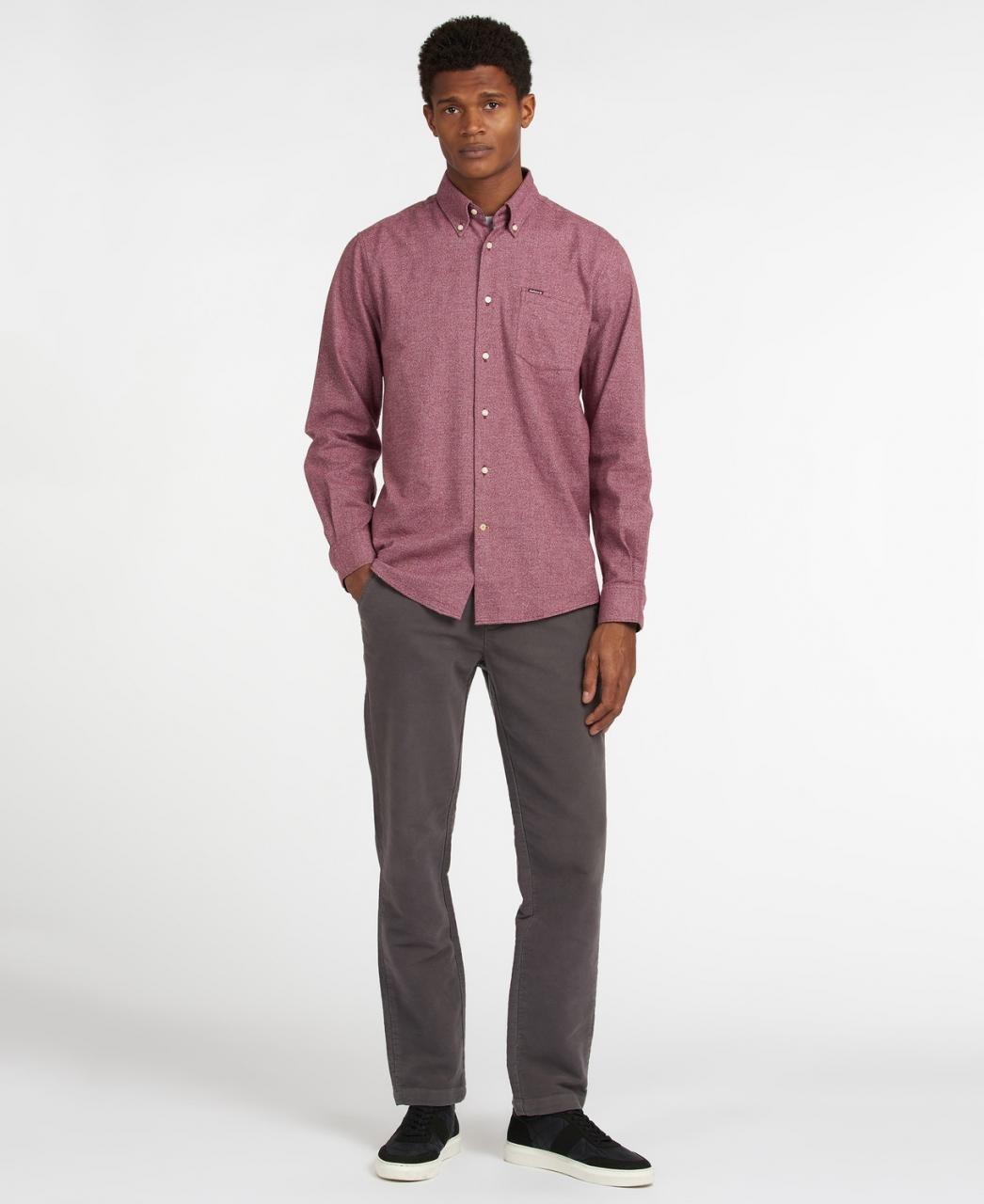 Barbour Priestcliffe Tailored Shirt - merlot