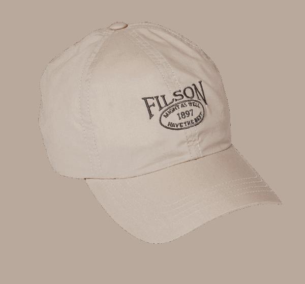 Filson Lightweight Angler Cap - dessert tan