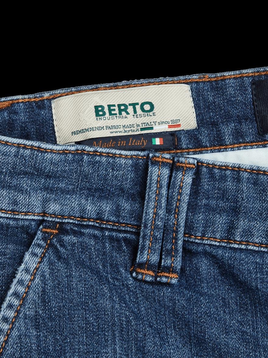 BLUE DE GENES Paulo Nevada Light Jeans
