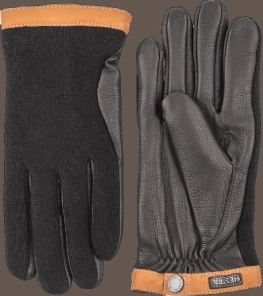 Hestra Deerskin Wool Trikot - Black