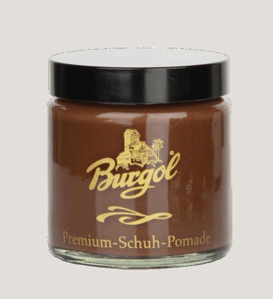 Burgol Premium Schuh Pomade, mittelbraun - 22