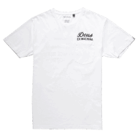Deus Venice Address Pocket Tee - white