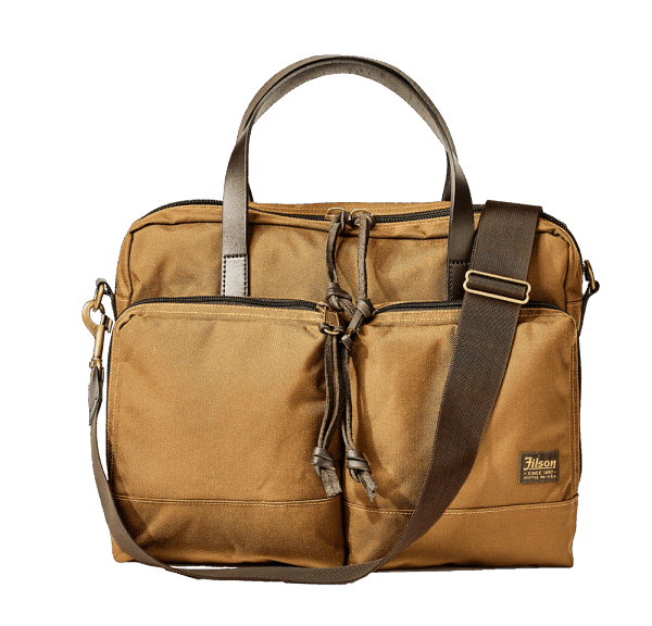 Filson Dryden Briefcase - whisky