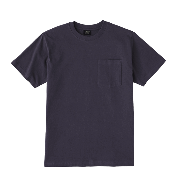 Filson Outfitter Solid One Pocket T-Shirt - ink blue