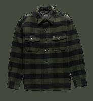Deus Marcus Flanel Overshirt - forrest green