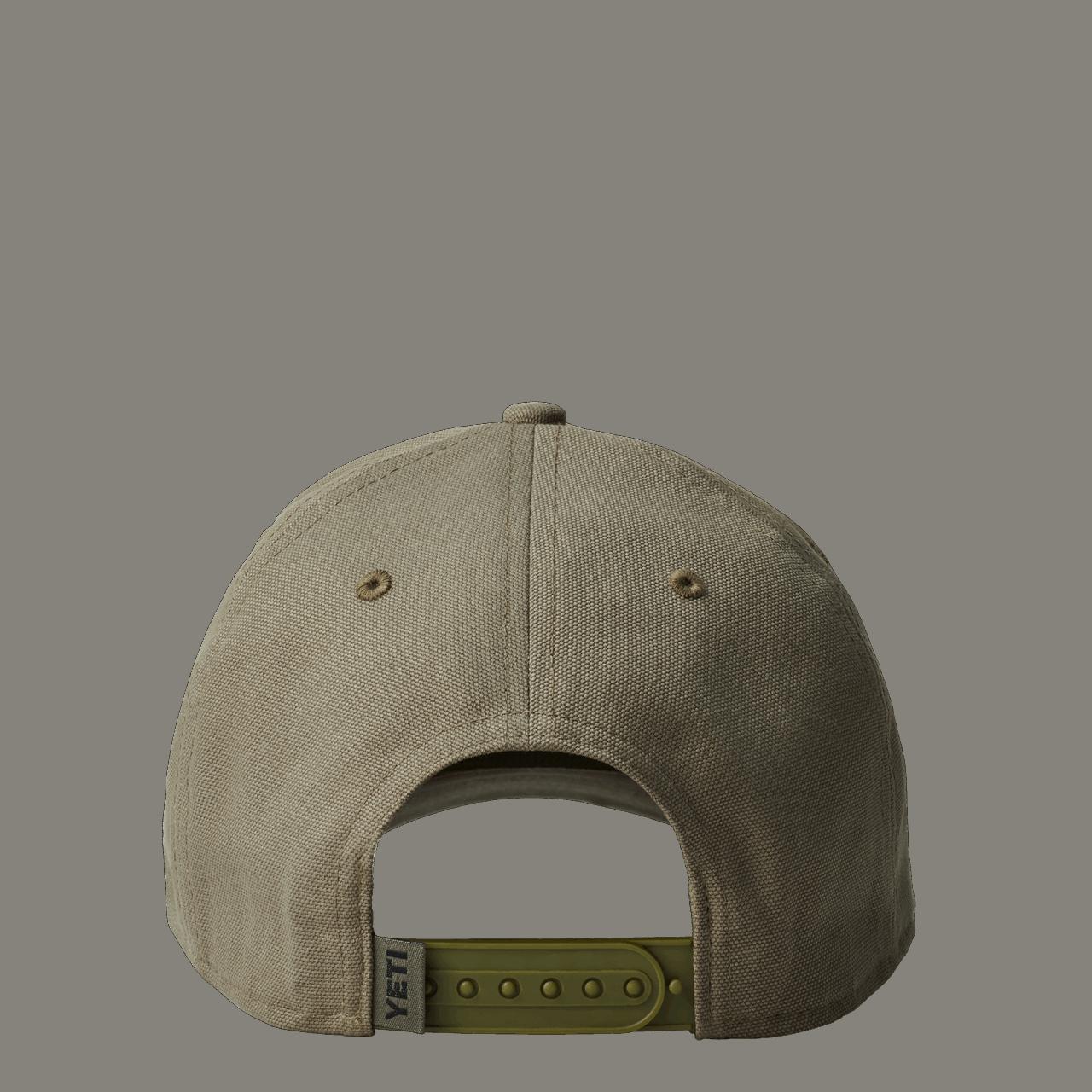 YETI Velcro Badge Hat - olive