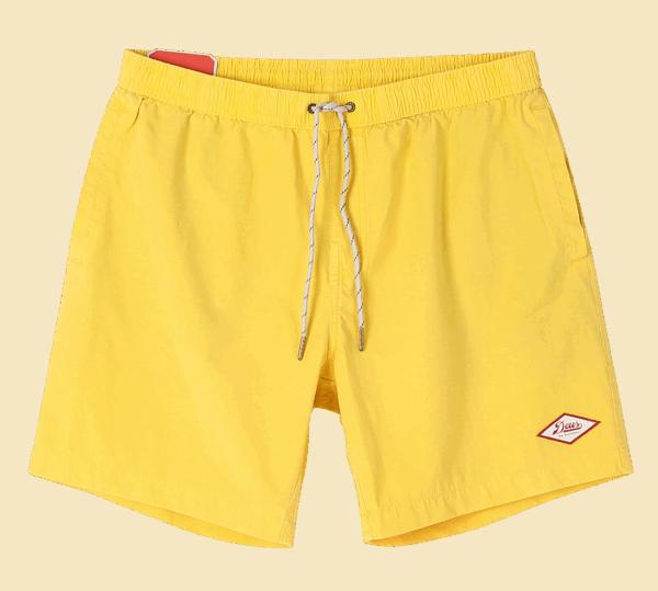 Deus Sandbar Bordshort - super lemon