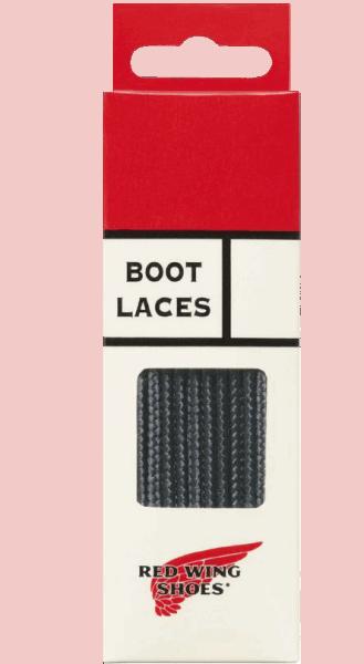 """Red Wing Lace Taslan 63"""" black"""
