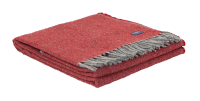 Faribault Ashby Twill Blanket Red 50x72 inch / 125x180cm