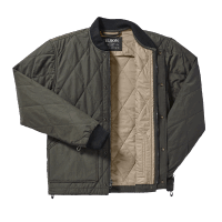 Filson Quilted Pack Jacket - otter green