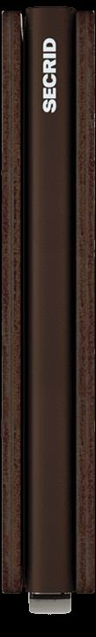 Secrid Slimwallet - Vintage - chocolate