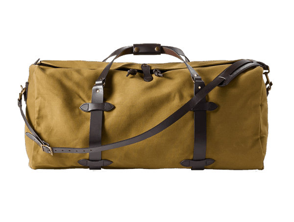 Filson Large Rugged Twill Duffle Bag - Tan