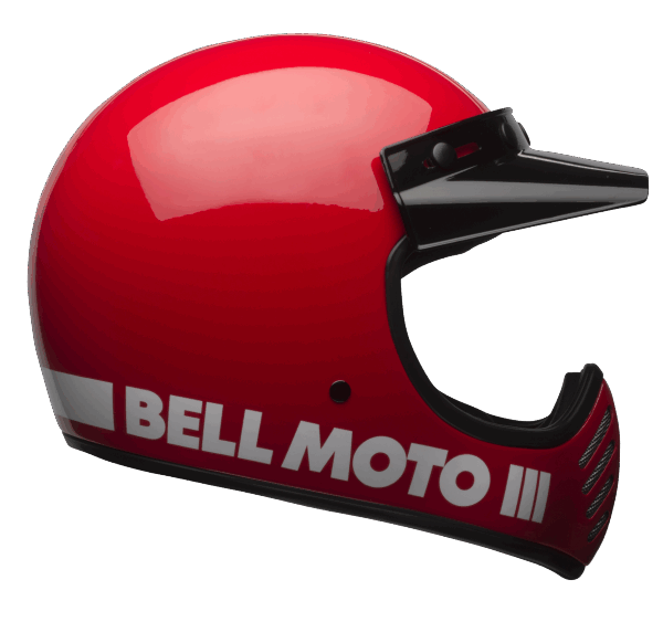 BELL Moto-3 Classic Red