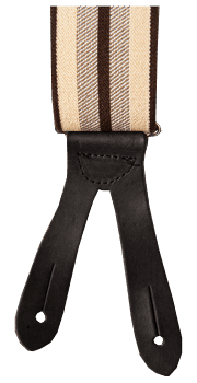 Pike Brothers Heavy Duty Braces Brown
