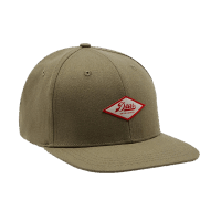 Deus Hemp Baseball Cap - tea - olive