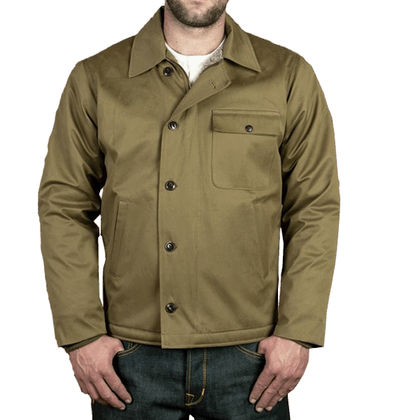 Pike Brothers 1962 A2-Deck Jacket olive