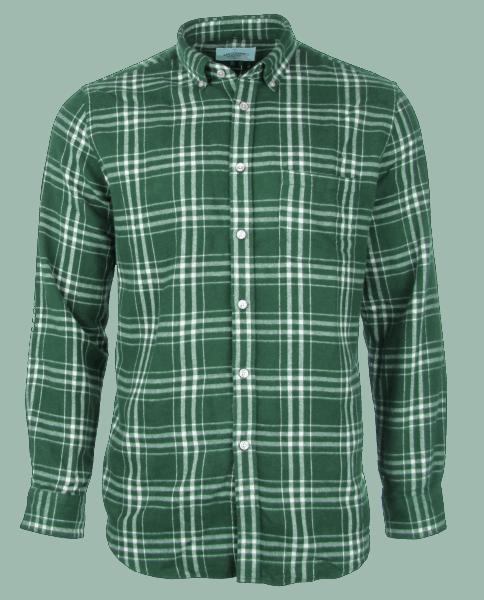 Portuguese Flannel GARRA GREEN