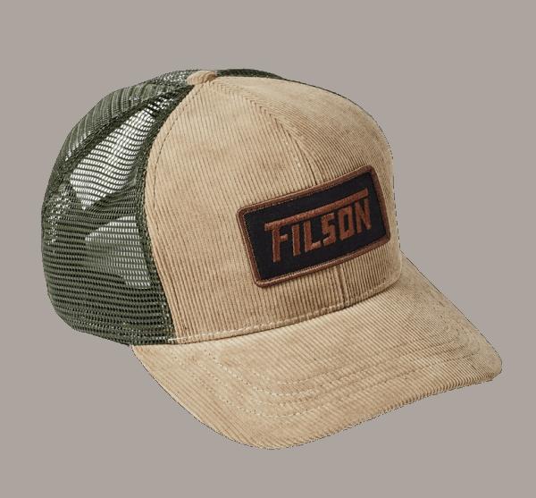 Filson Eagle Peak Cord Cap