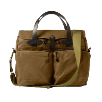 Filson 24 Hour Tin Cloth Briefcase -Tan