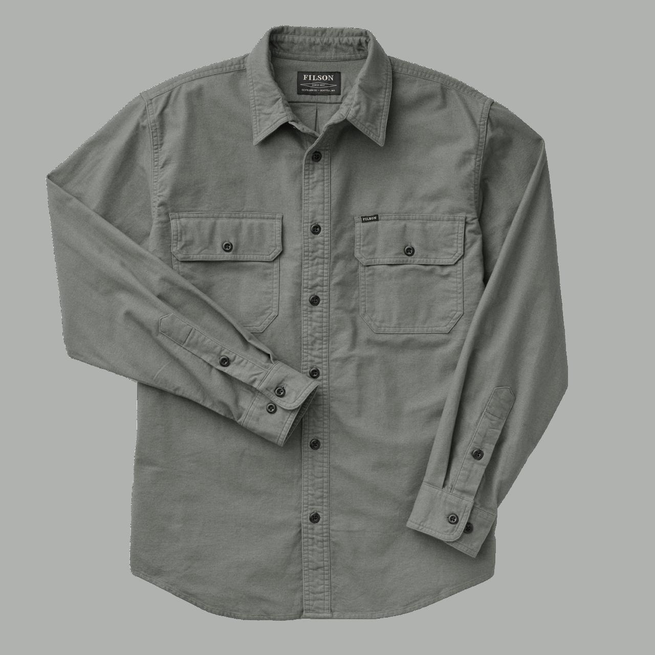 Filson Field Flannel Shirt - balsam green