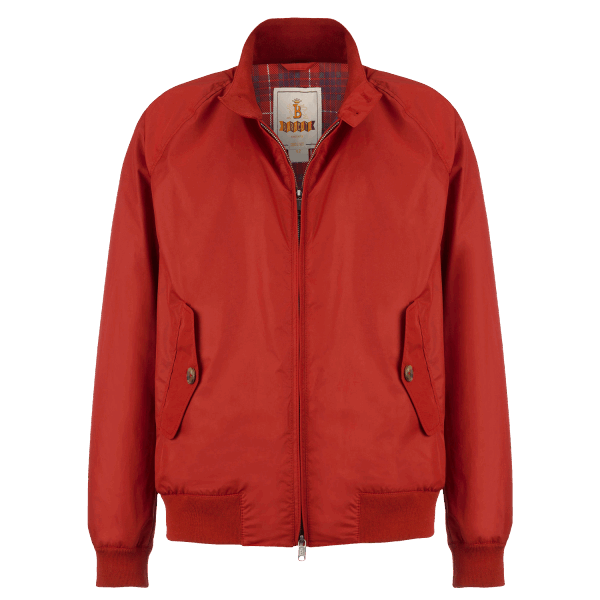 Baracuta G9 Jacket - dark red
