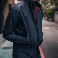 Baracuta G9 Jacket - dark navy
