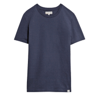 Merz b. Schwanen Basic T-Shirt - Deep Blue