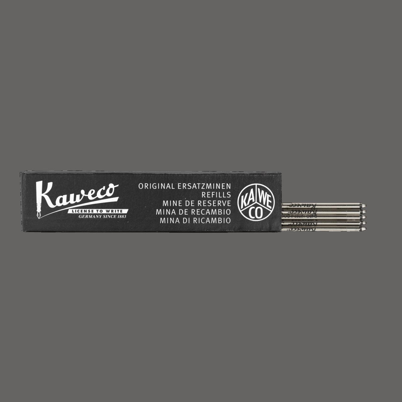 Kaweco D1 Ballpen Refill 5er Box- Black