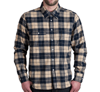 Pike Brothers 1937 Roamer Shirt blue flannel