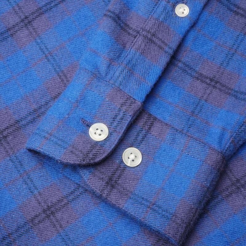 Portuguese Flannel Visi Shirt - Blue