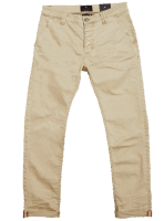 BLUE DE GENES Paulo Pavia Enzyme Trousers - Warm Sand