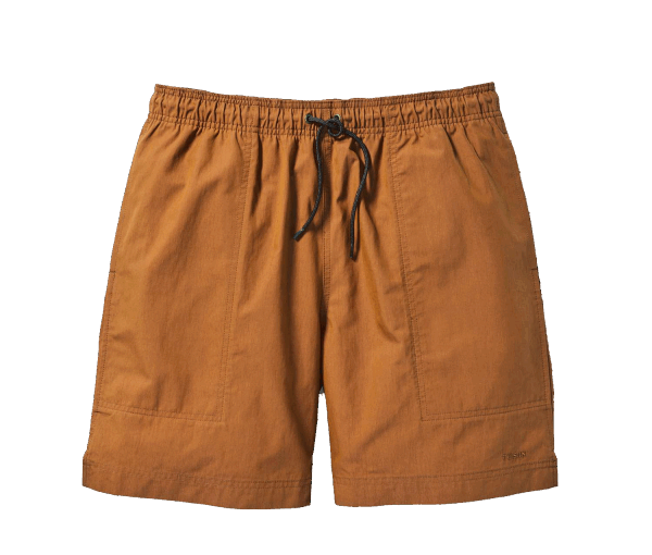 Filson Green River Water Shorts - rust
