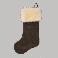 Filson Mackinaw Christmas Stocking - brown