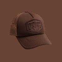 Deus Fleece Shield Trucker - black