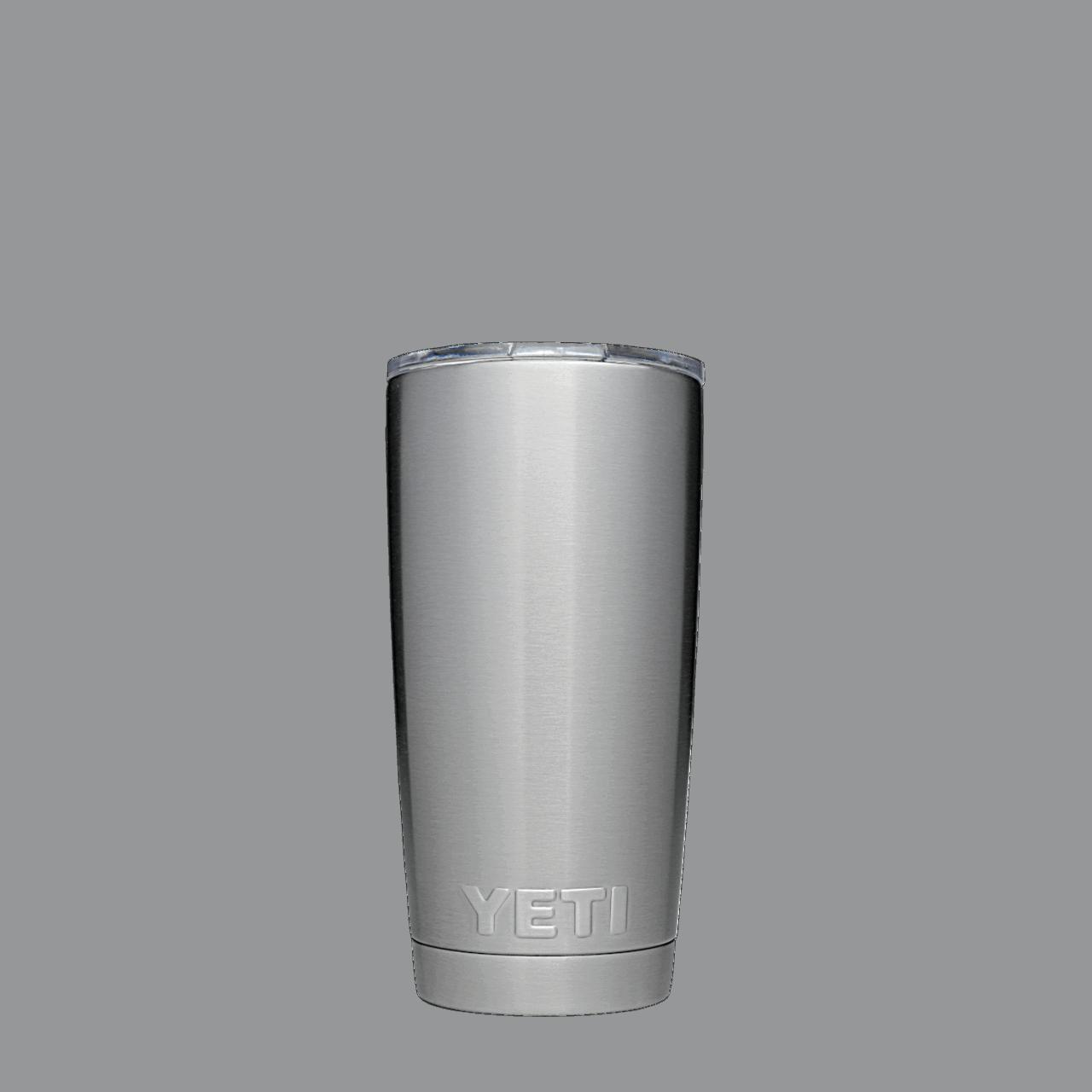 YETI Rambler 20 oz Becher - steel