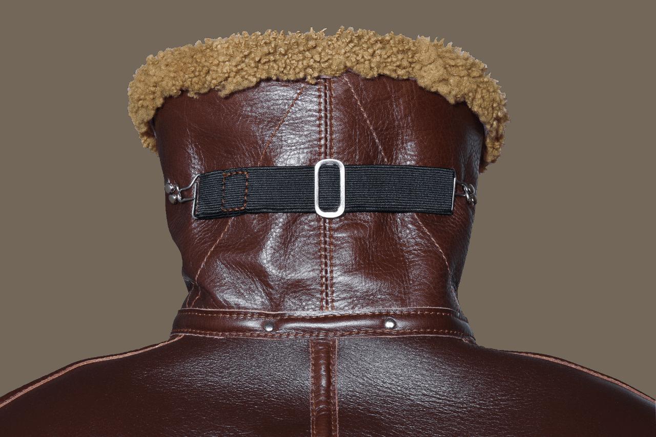 Aero Leather RAF Sheerling Jacket