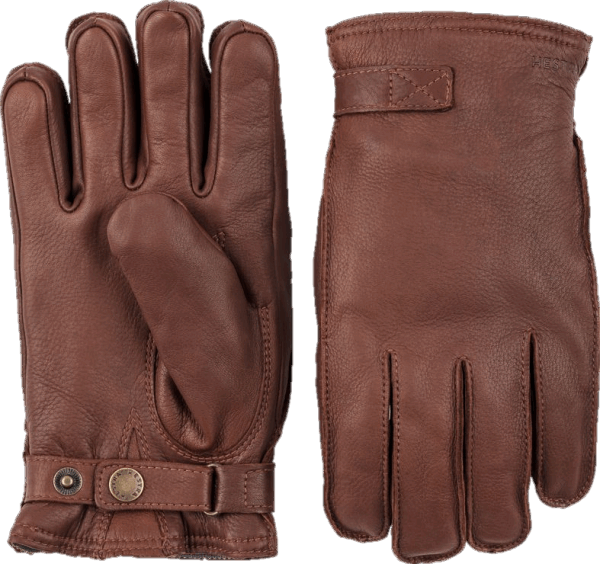 Hestra Deerskin Wool Terry - Chestnut Brown