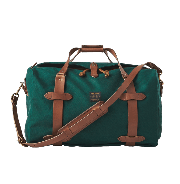 Filson Medium Rugged Twill Duffle Bag - Hemlock