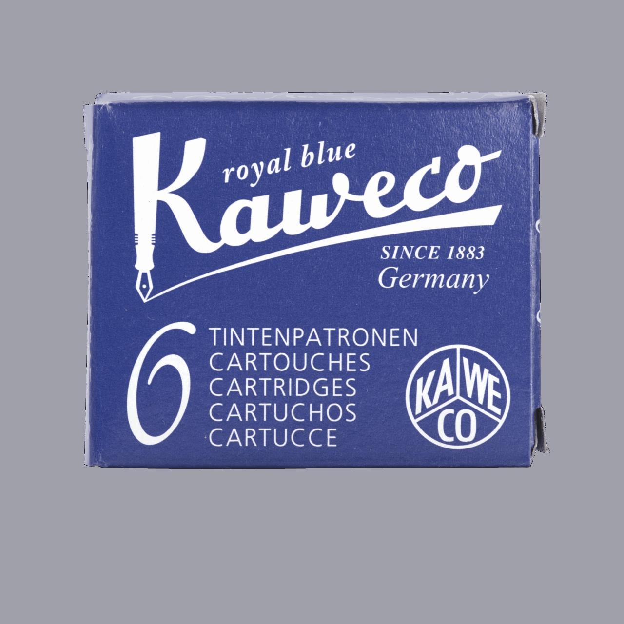 Kaweco Tintenpatronen 6 Stück - Königsblau