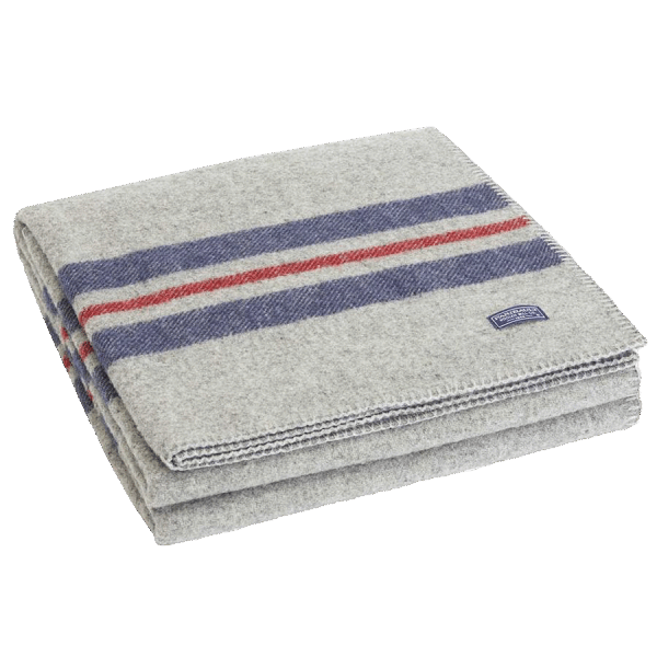 Faribault Cabin Blanket Heather Gray 125x180cm / 50x72 inch